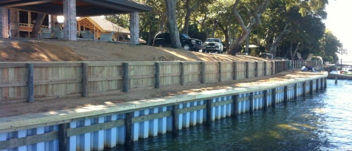 Building a New Seawall